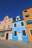 Venice street view in Italy. Royalty Free Stock Photo