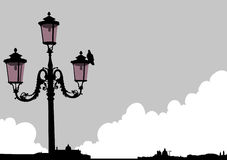 Venice streetlight Stock Photo