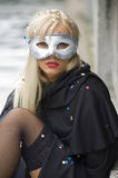 Venice style mask Stock Photography