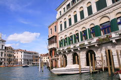 Venice in the summer. Italy Royalty Free Stock Photography