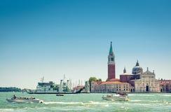 Venice on summer sunny day, Italy Stock Photos