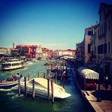 Venice in summertime Royalty Free Stock Image