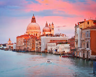 Venice at sunny evening Royalty Free Stock Photography