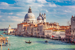 Venice at sunny evening Stock Photography