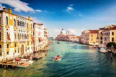 Venice at sunny evening Royalty Free Stock Photography