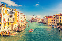 Venice at sunny evening Royalty Free Stock Photos