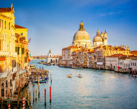 Venice at sunny evening Stock Image