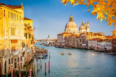 Venice at sunny evening Stock Photo