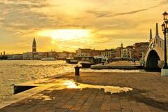Venice at sunrise Royalty Free Stock Image