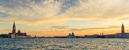 Venice at sunrise Stock Photography