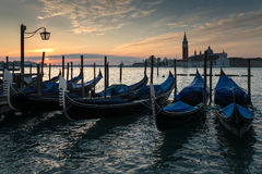 Venice Sunrise Royalty Free Stock Photo