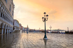 Venice at sunrise Stock Photography