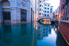 Venice by sunrise Royalty Free Stock Photography