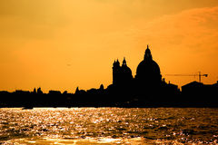 Venice Sunset. Sunset, Venice coastline Stock Photos