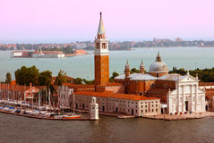 Venice.  Sunset Royalty Free Stock Photography