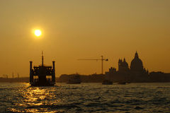 Venice - Sunset in the Lagoon Royalty Free Stock Images