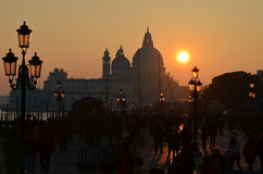Venice Sunset Stock Image