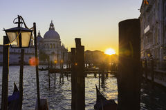 Venice in sunset. Stock Images