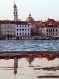 Venice at sunset Royalty Free Stock Image