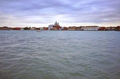Venice on sunset. Veneto, Italy Stock Image