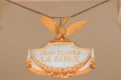 Venice - Teatro la Fenice. Royalty Free Stock Photo