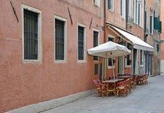 Venice terrace Stock Image