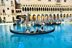 Venice Theme Venetian with Gondola Royalty Free Stock Photo