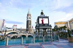 Venice Theme Venetian with Gondola Stock Image