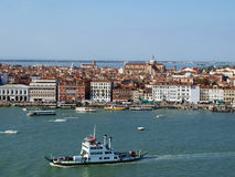 Venice. Top view. Royalty Free Stock Image