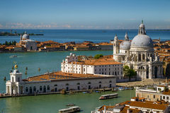 Venice,top view,beautiful view. View of Venice from the campanile of the cathedral of St. Mark Stock Image