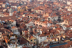 Venice top view Royalty Free Stock Image