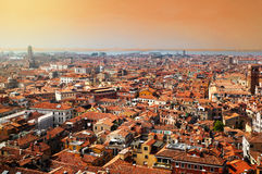 Venice. Top view sunset Stock Images