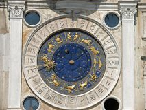 Venice, Torre dell�Orologio Royalty Free Stock Photography