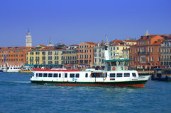Venice water bus Stock Image