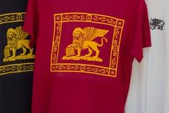 Venice tourist T-shirts Stock Images