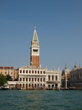 Venice - The tower of St Mark and Zecca Royalty Free Stock Images