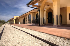 Venice trail depot, Florida Royalty Free Stock Photo