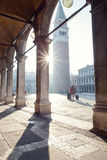 Venice Traveler Royalty Free Stock Photo