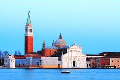 Venice in Twilight Royalty Free Stock Photo
