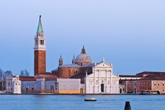 Venice in Twilight Stock Photography