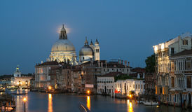Venice under a full moon Royalty Free Stock Photos