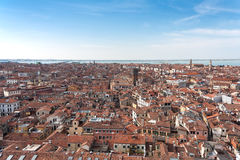 Venice under the sky Royalty Free Stock Photos