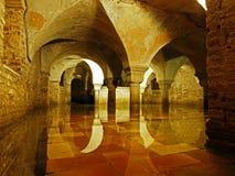 Venice undergound - The crypt of St. Zachary Church Stock Photos