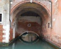 Venice, underpass Stock Photo