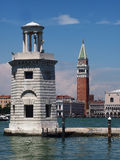 Venice - Unusual view of St. Marc Square royalty free stock photo