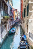 Venice. Urban canal Royalty Free Stock Images