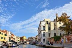 Venice urban life Stock Image