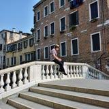 Venice urban life Royalty Free Stock Image