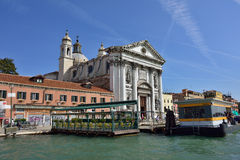 Venice urban life Royalty Free Stock Images