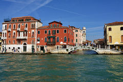 Venice urban life Stock Photos
